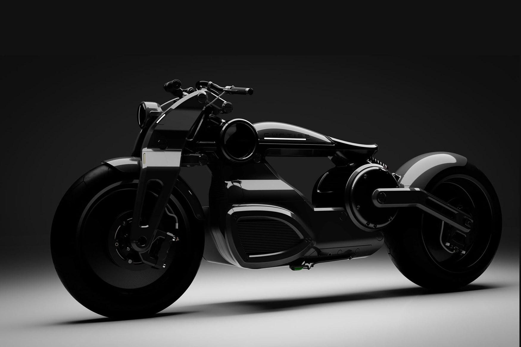 Curtiss tiếp tục chế tạo hai mẫu thiết kế xe điện hoàn toàn mới!