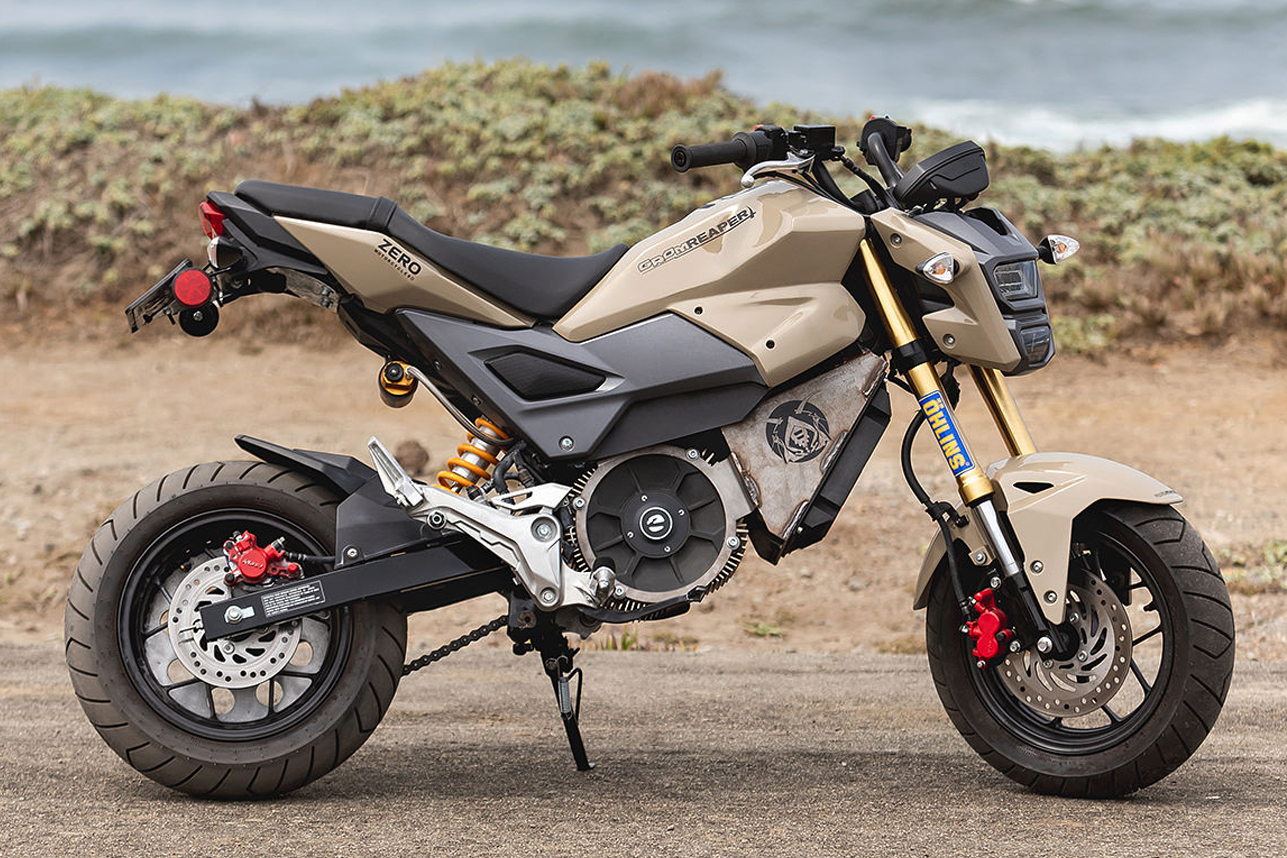 Honda Grom Reaper – Một chiếc mô tô mini thầm lặng!