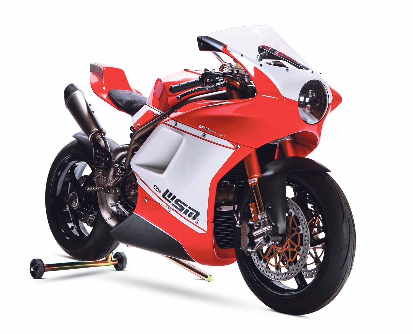 Siêu xe Walt Siegl Motorcycles- Một chiếc xe thể thao hoàn chỉnh!