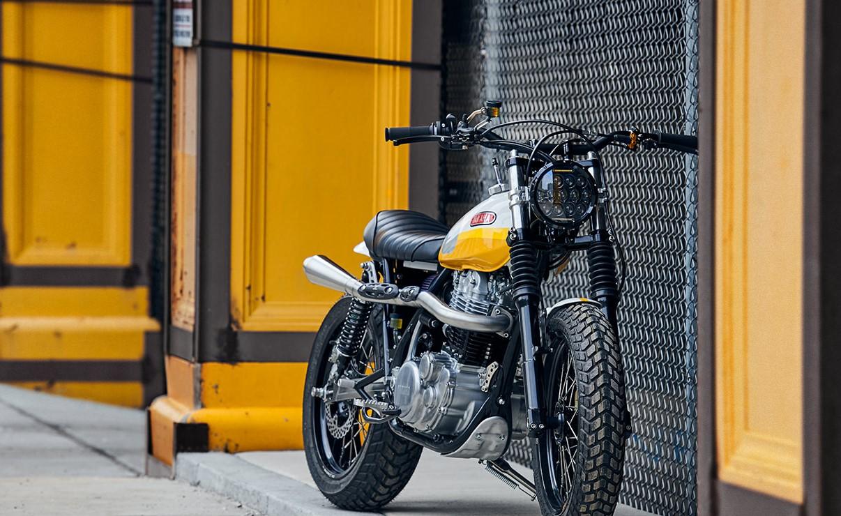 """Xe """"độ"""" Yamaha SR500 Scrambler của Daniel Pieter – Thiết kế thật tinh gọn!"""