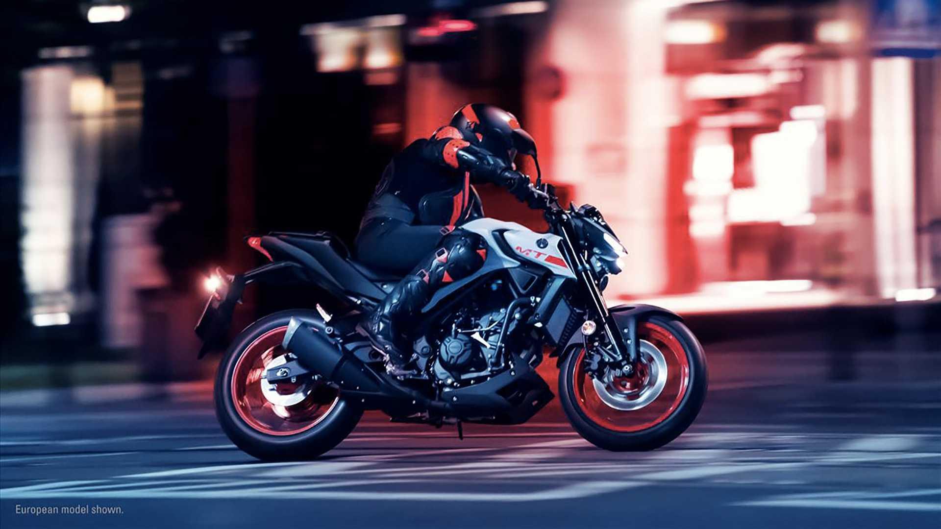Tổng hợp thông tin về Yamaha MT-03 2020