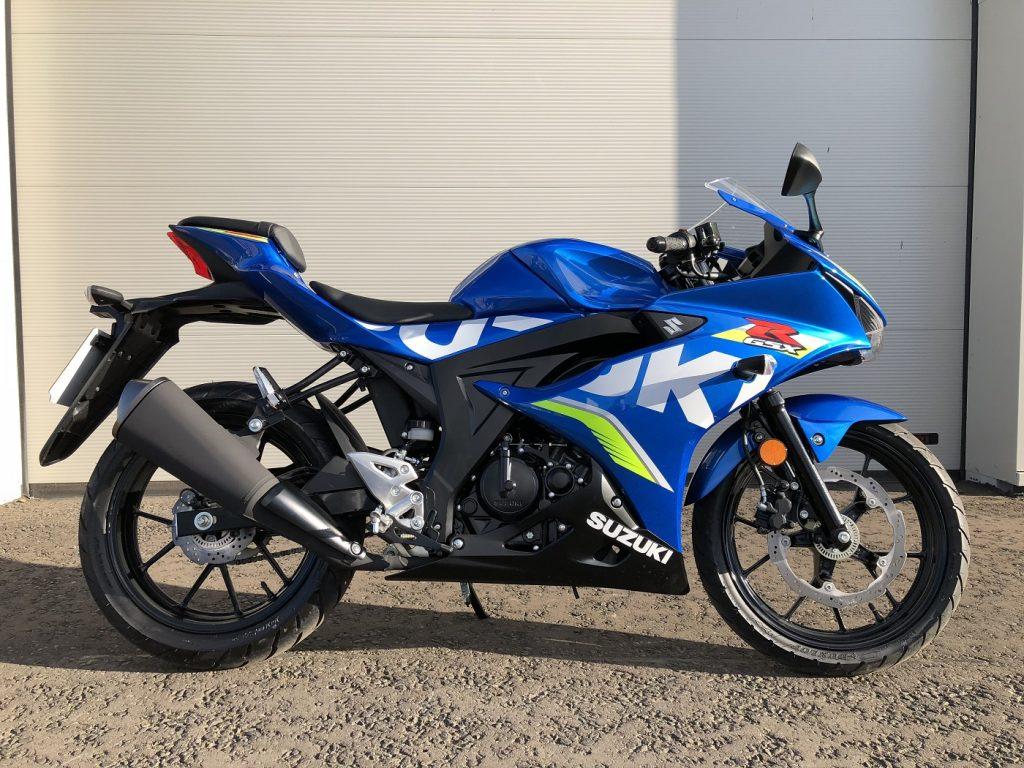 Suzuki ra mắt GSX-R125 tại thị trường Nhật Bản