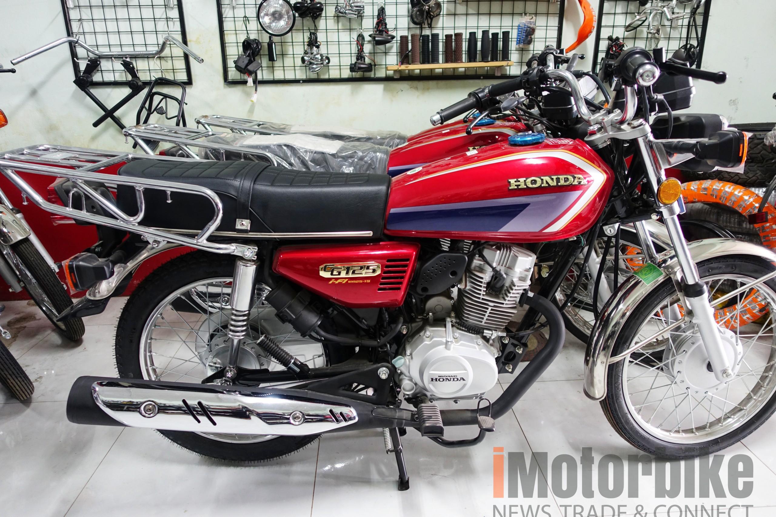 Cùng ngắm Honda CG125 i-FI 2020 tuyệt đẹp vừa về Việt Nam