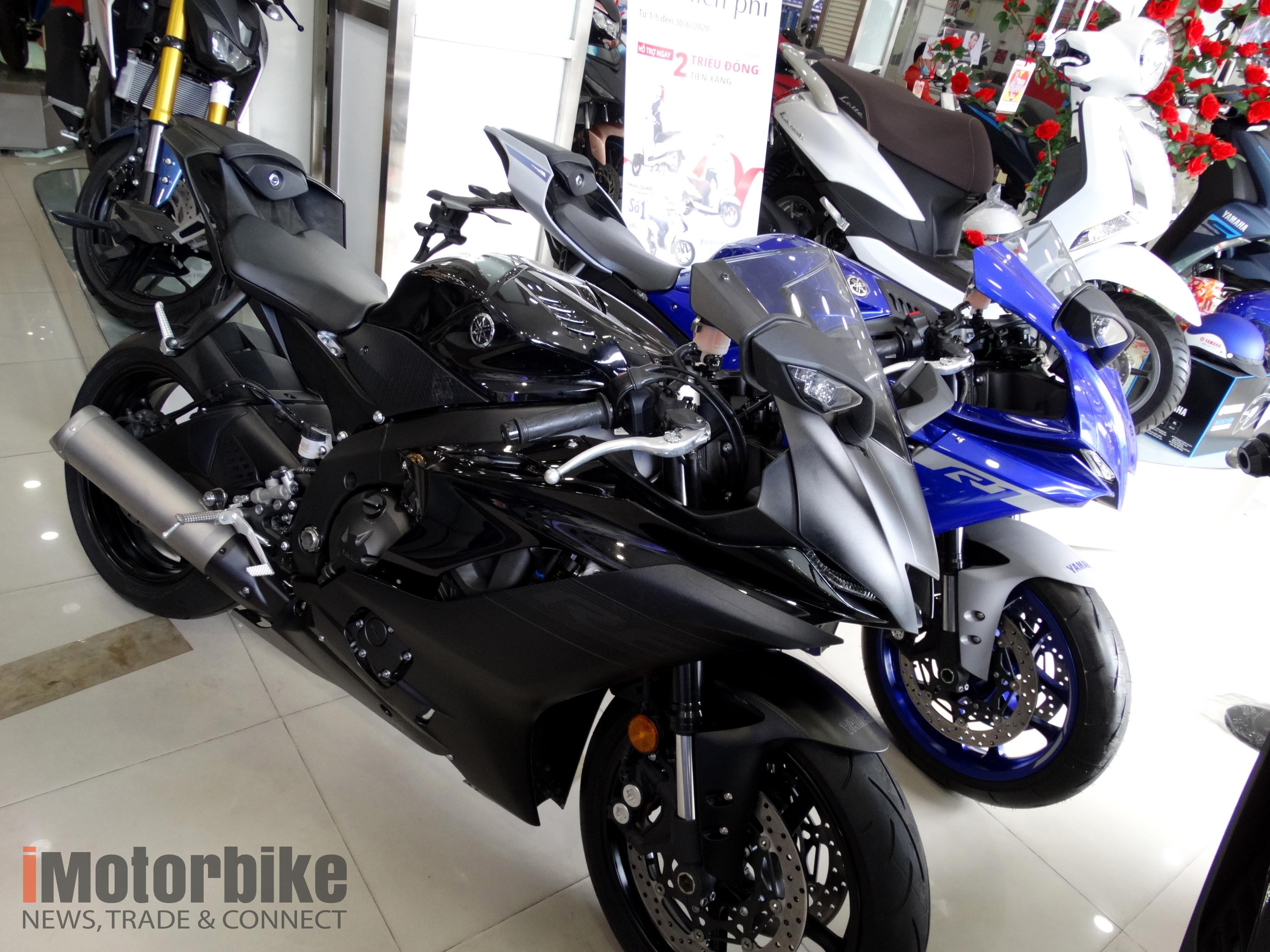 [HOT] Chi tiết mô tô siêu khủng Yamaha YZF-R1 2020 vừa về Việt Nam