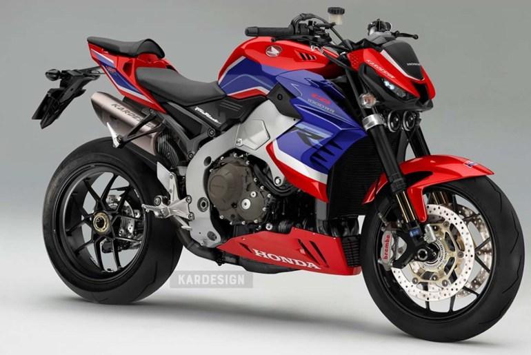 Honda CBR1000RR-R Fireblade 2020 phong cách Streetfighter