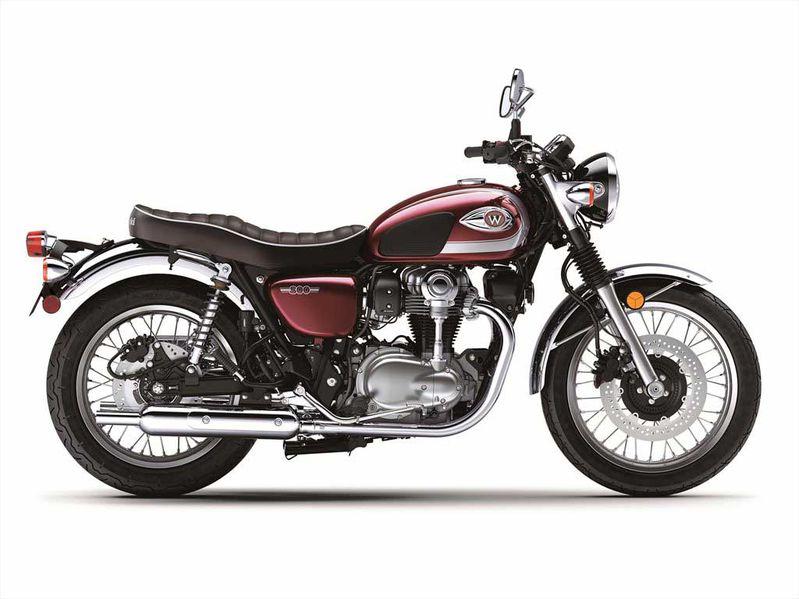 Kawasaki W800 2020 trở lại với phong cách retro classic bất hủ