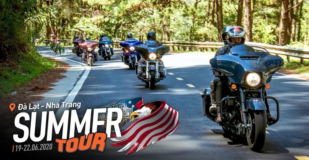 [Summer Tour 2020] Cùng Harley Davidson chinh phục hành trình 1000km