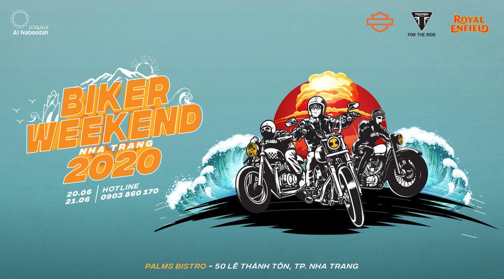 [BIKER WEEKEND 2020] Hàng trăm môtô siêu khủng quy tụ tại Nha Trang