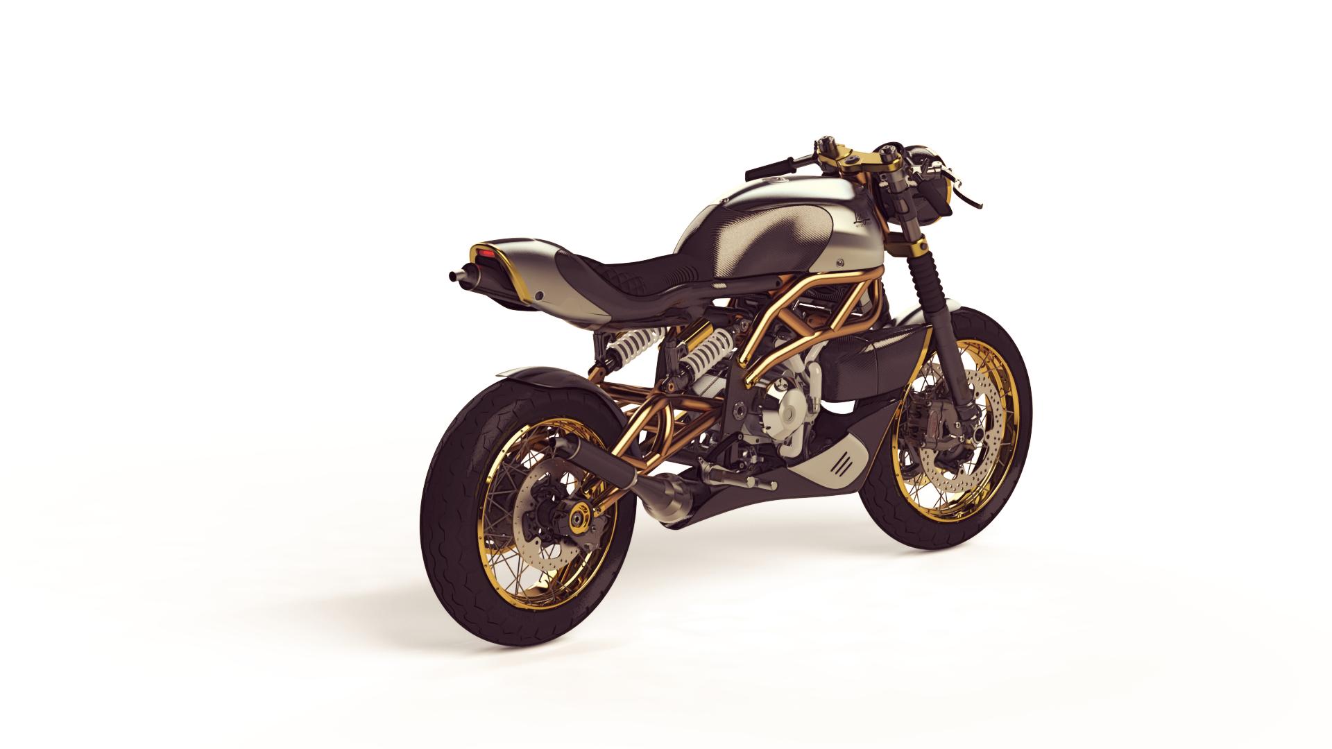 Langen Motorcycles hồi sinh mẫu môtô thể thao sử dụng động cơ 2 thì
