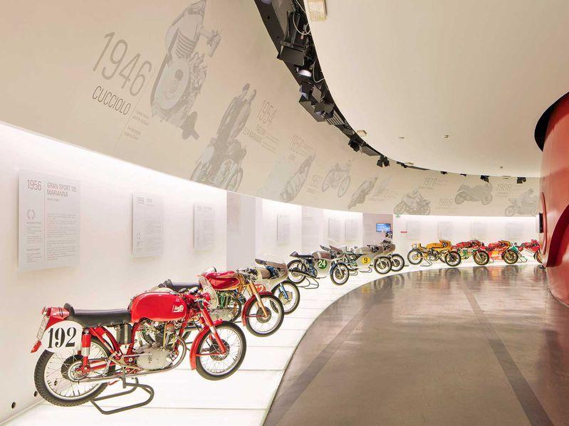 Ducati mở cửa trở lại bảo tàng ở Borgo Panigale sau dịch COVID-19