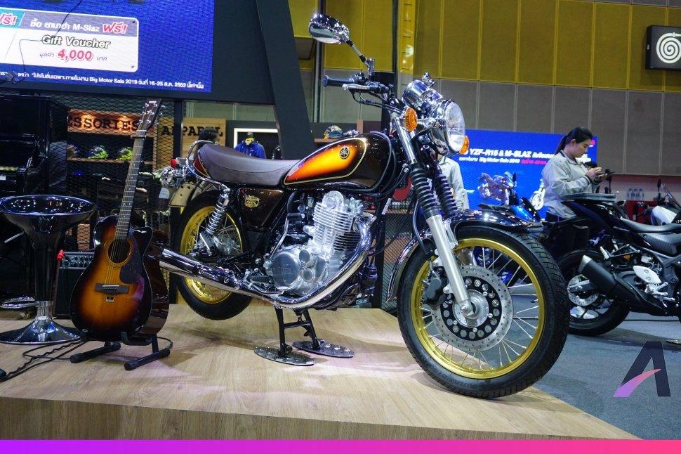 [BIMS 2020] Ngắm Yamaha SR400 SE bản kỉ niệm 40 năm tuyệt đẹp