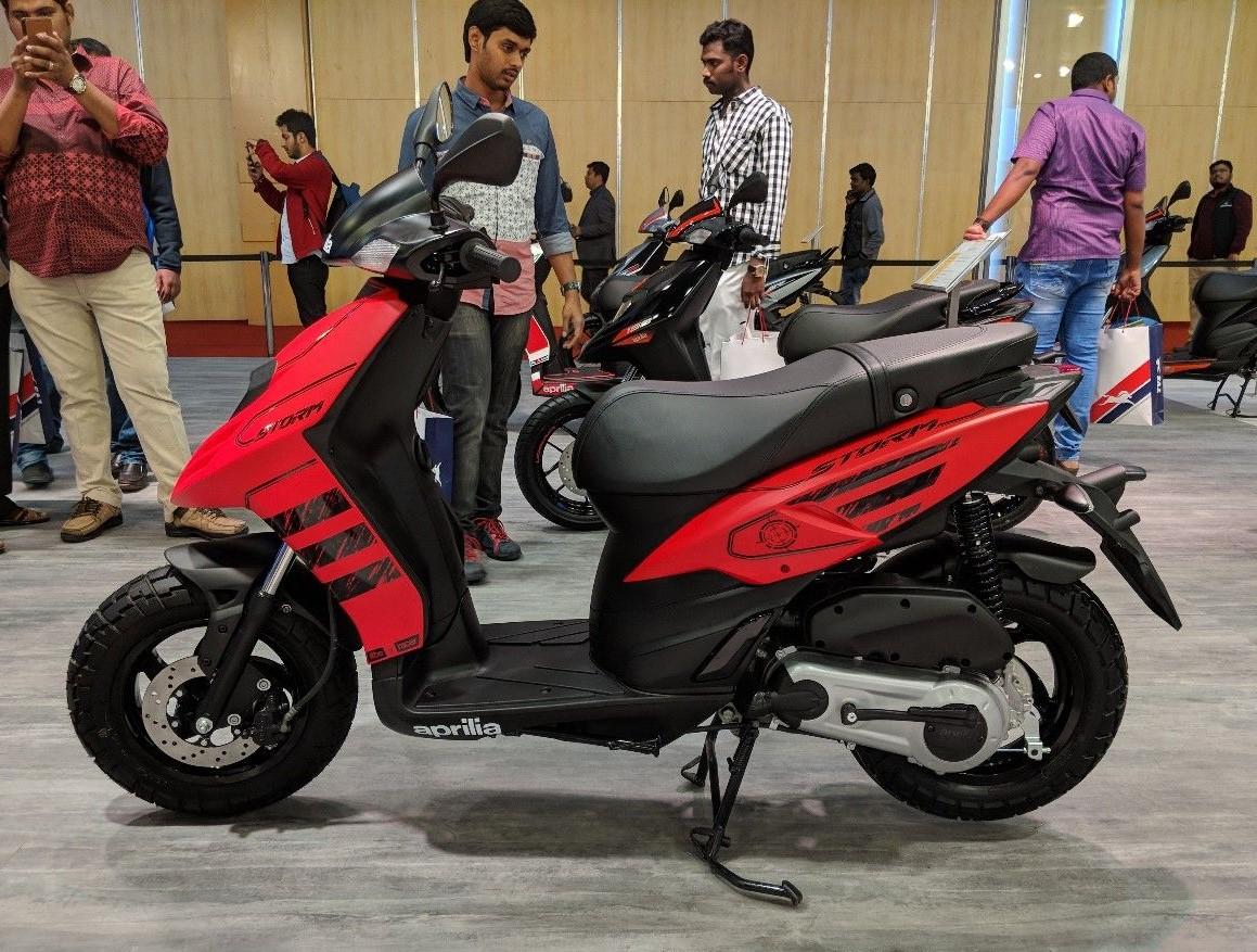 Aprilia Storm 125 bản 2020 ra mắt tại Ấn Độ, giá chỉ 27 triệu đồng