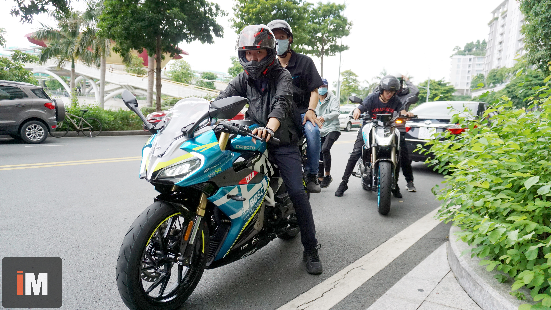Trải nghiệm các mẫu xe CFMoto tuyệt đẹp tại Saigon Maxspeed