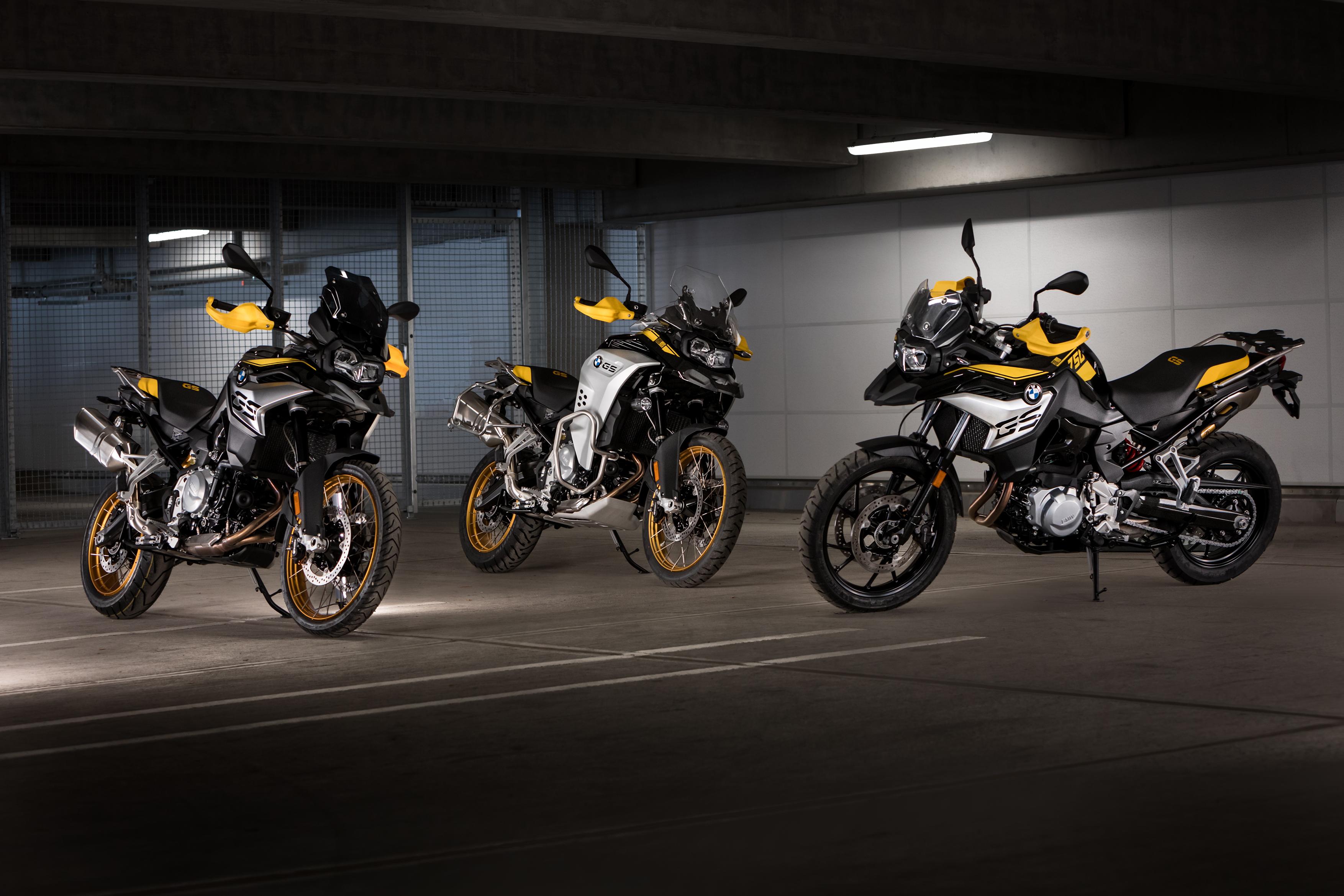 BMW Motorrad ra mắt F750GS, F850GS và F850GS Adventure phiên bản mới