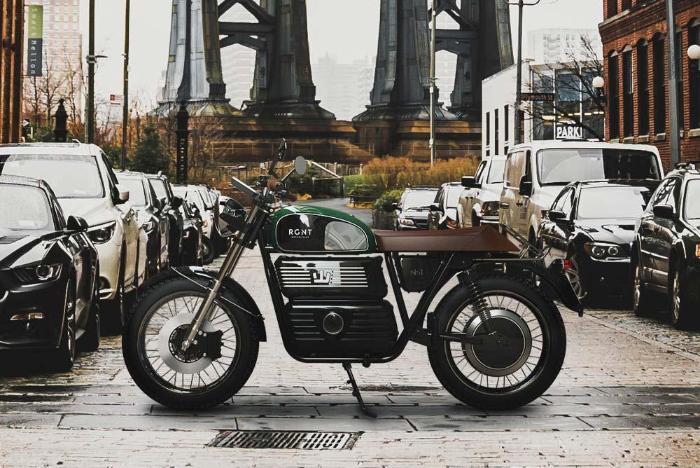 Ngắm mô tô điện phong cách Retro cực đẹp đến từ RGNT Motorcycles