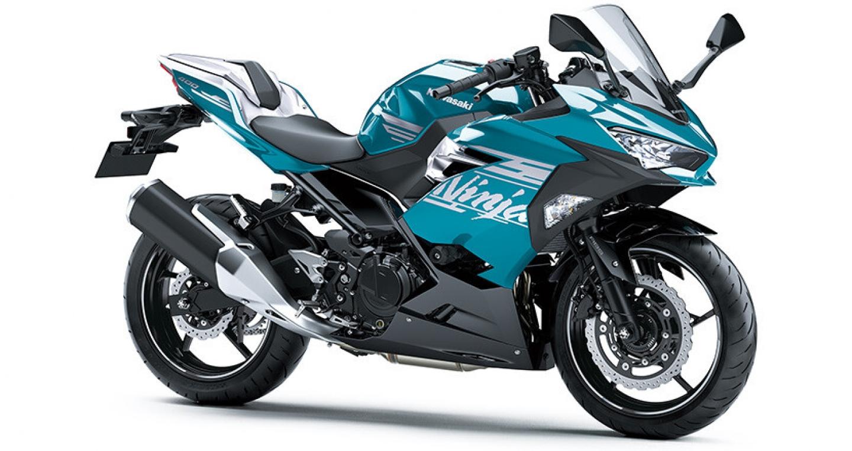 Kawasaki Ninja 400 phiên bản 2021 sẽ có thêm 4 tùy chọn màu sắc