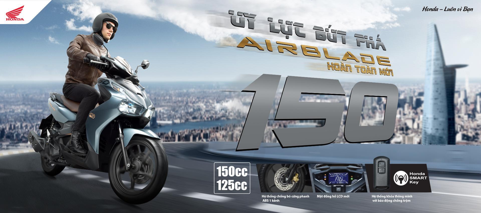 Bảng giá xe tay ga Honda Airblade tháng 08/2020: Chưa hạ nhiệt!