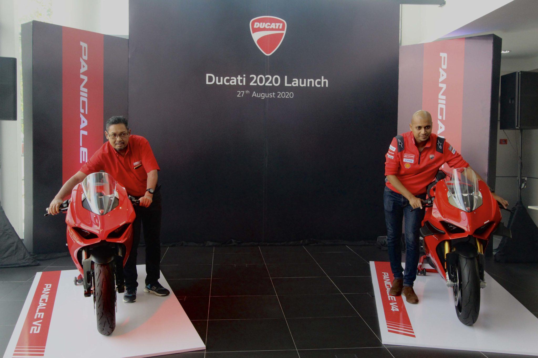 Ducati Panigale V2, V4, V4S và Scrambler Icon Dark ra mắt tại Malaysia