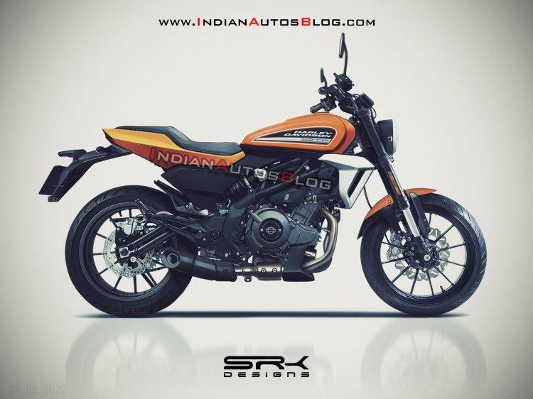 Harley Davidson HD350 lộ thêm hình ảnh thiết kế và khối động cơ