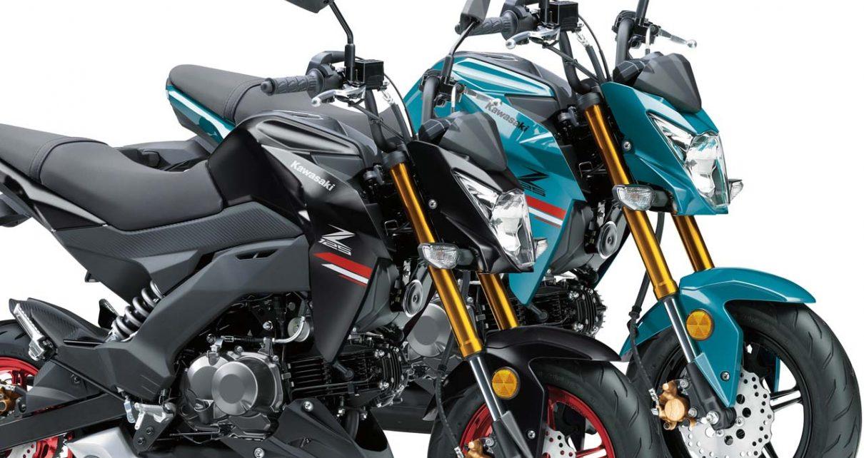 Kawasaki Z125 Pro phiên bản 2021 ra mắt tại Nhật Bản: 2 phối màu mới cực đẹp