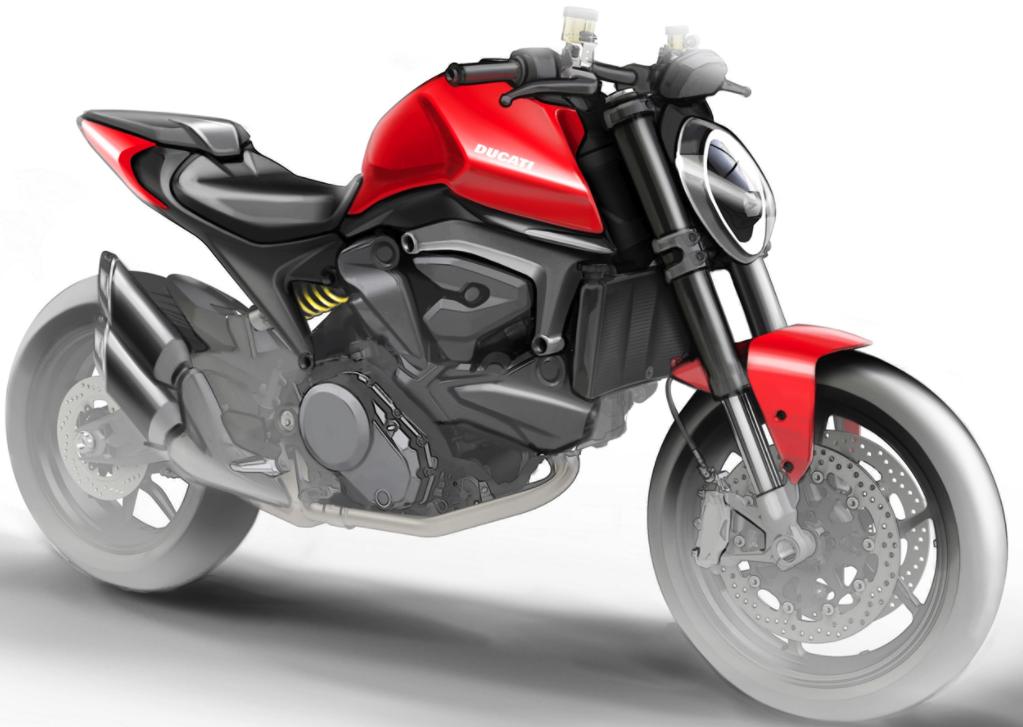 Ducati Monster 821 - Bản mới cóng, thiếu đi bộ khung lưới thép?