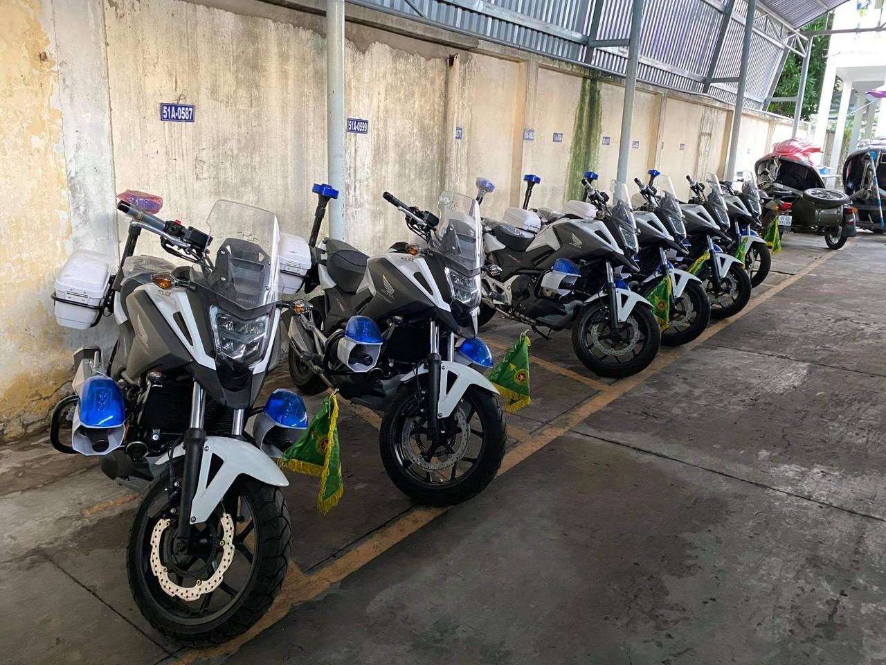 Đội CSGT TPHCM vừa được trang bị Honda NC750X DCT ABS 2020