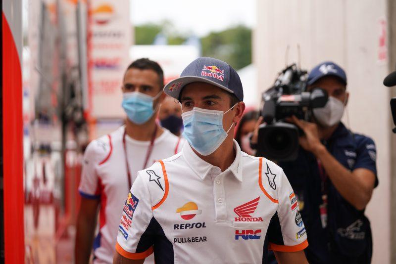 Sự trở lại của nhà vô địch: Marquez đến thăm sân đua MotoGP
