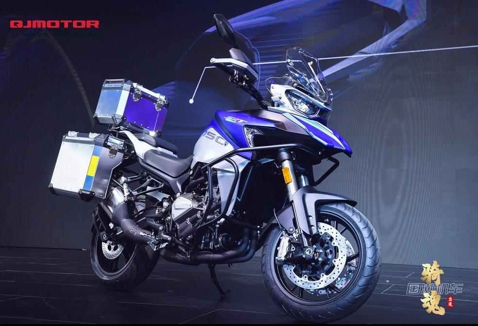 QJ Motors ra mắt mẫu adventure mới SRT 750