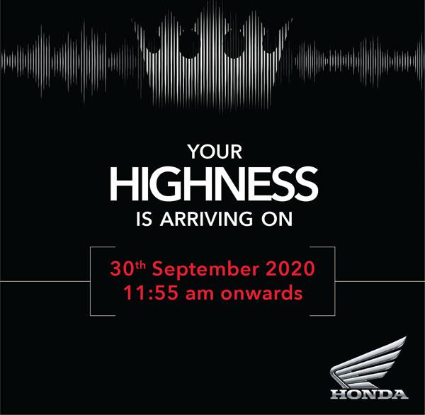 Honda gửi thiệp mời cho sản phẩm cao cấp mới đầy bí ẩn sắp tới!