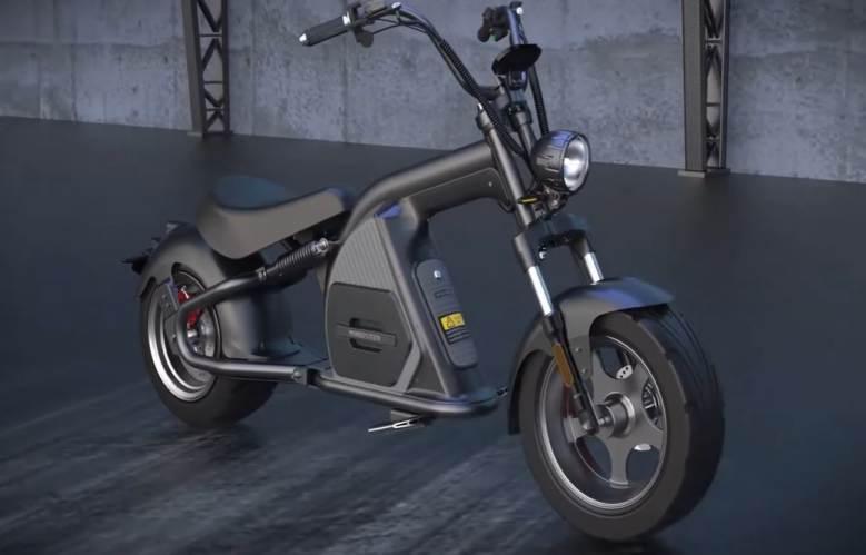 Cuối cùng cũng đã có xe máy điện phong cách Chopper: EMoS WYLD!