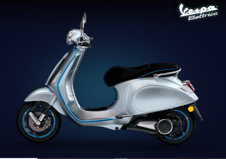 Vespa Elettrica sẽ được ra mắt tại Việt Nam cuối tháng 9/2020?
