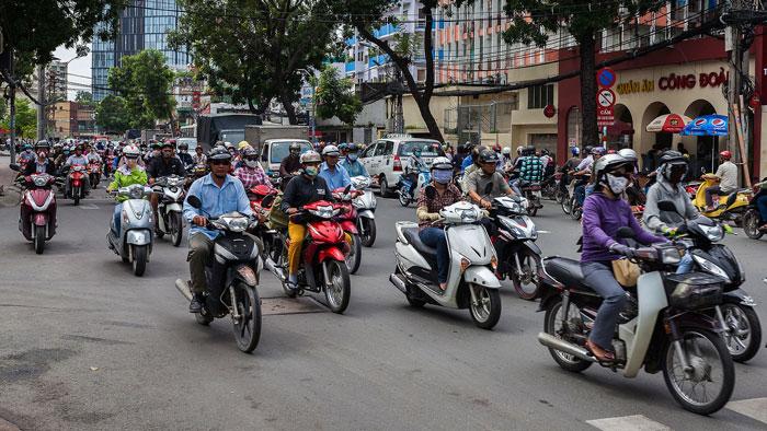 Thị trường xe máy Đông Nam Á: Doanh số giảm 33% trong nửa đầu năm nay
