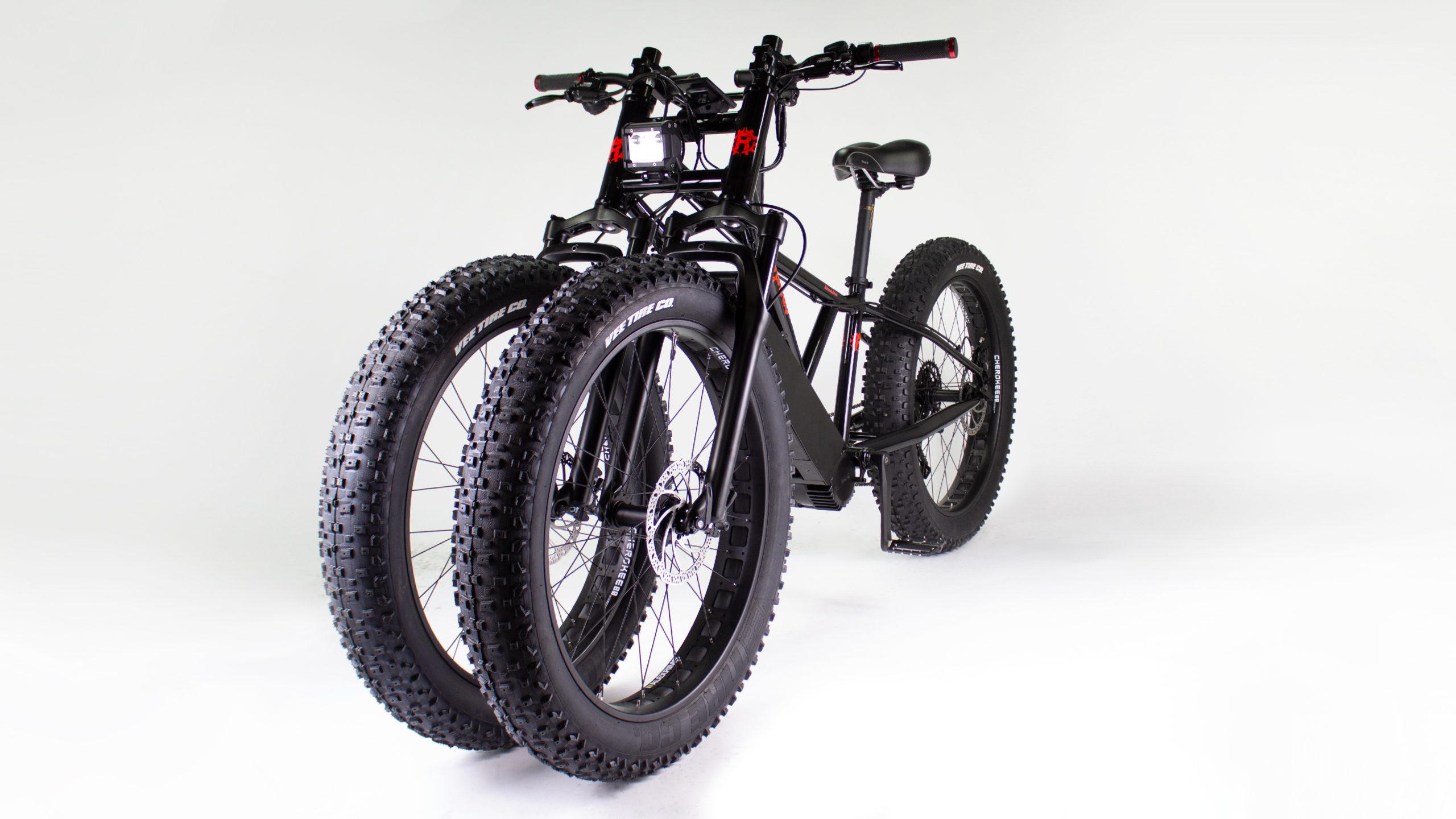 Độc đáo xe đạp điện ba bánh Rungu®Dualie's ™ công suất 1120W