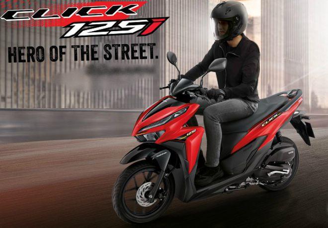 Honda Click 2021 chính thức ra mắt tại Thái Lan, giá từ 37,8 triệu đồng