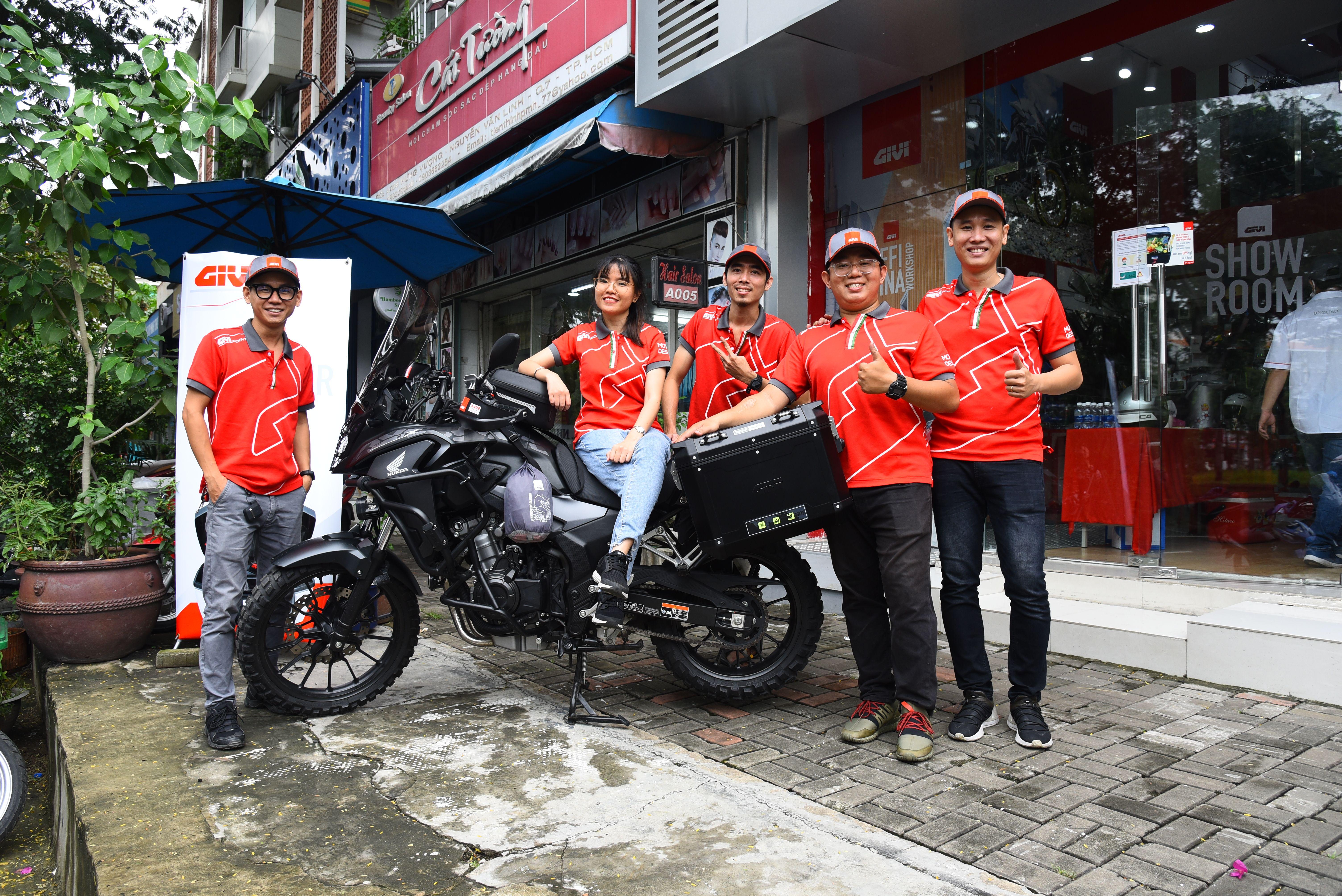 Givi Việt Nam tổ chức ngày hội tri ân khách hàng tại Givi Point Quận 7