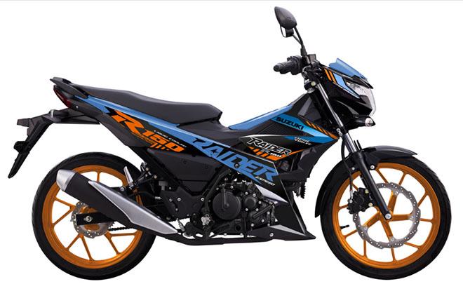 Suzuki ra mắt Raider R150 Fi phiên bản 2021 với 3 màu sắc mới cá tính