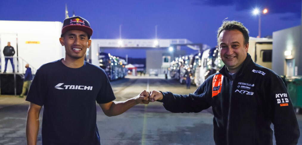 Hafizh Syahrin ký kết hợp đồng 1 năm với NTS RW Racing GP
