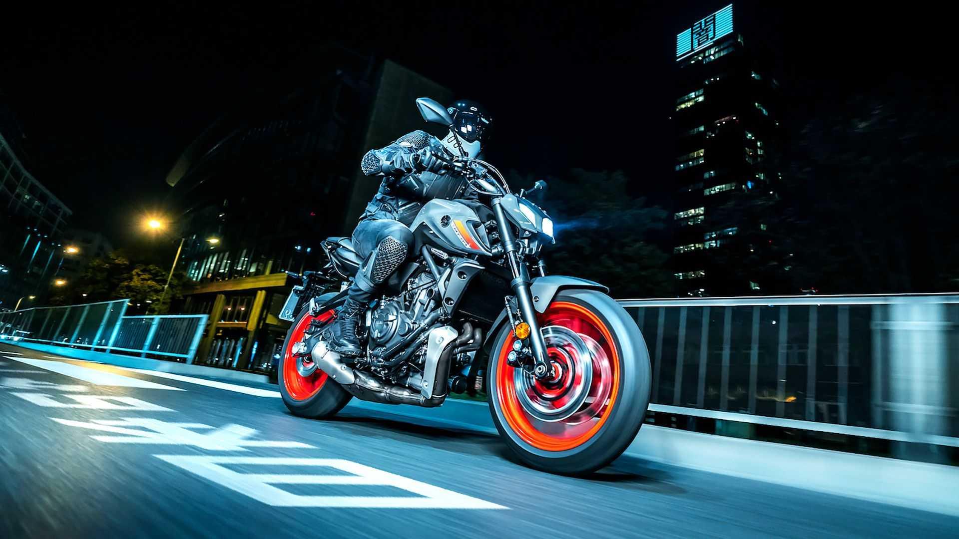 Sau MT-09, Yamaha tiếp tục giới thiệu MT-07 phiên bản 2021