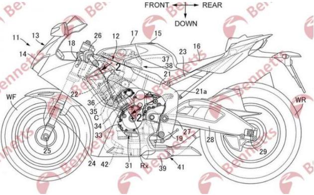 [Honda] Tiết lộ về dự án Superbike & Bộ động cơ V6 của dòng xe công thức 1