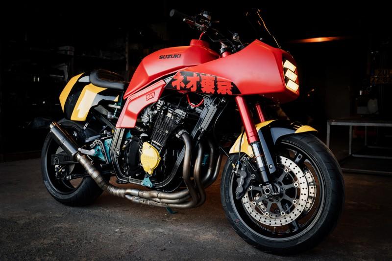 SUZUKI GSX-R750 bản độ Café Racer bởi COOL KID CUSTOME