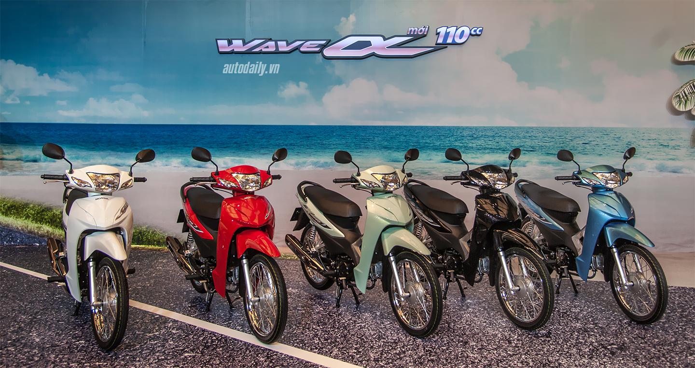 Bảng giá xe số Honda - cập nhật 12/2020