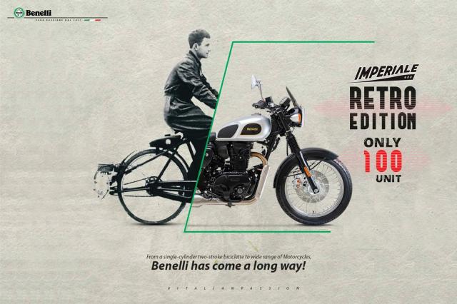 """Benelli Imperiale 400 Retro Edition - Phiên bản """"Cổ nhưng không lỗi thời""""!"""