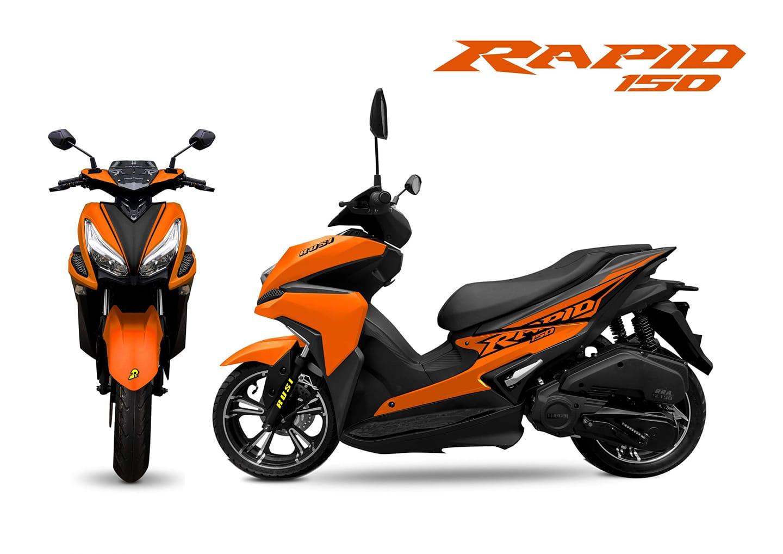 Rusi Rapid - có xứng đáng là bản sao giá rẻ của Yamaha NVX?
