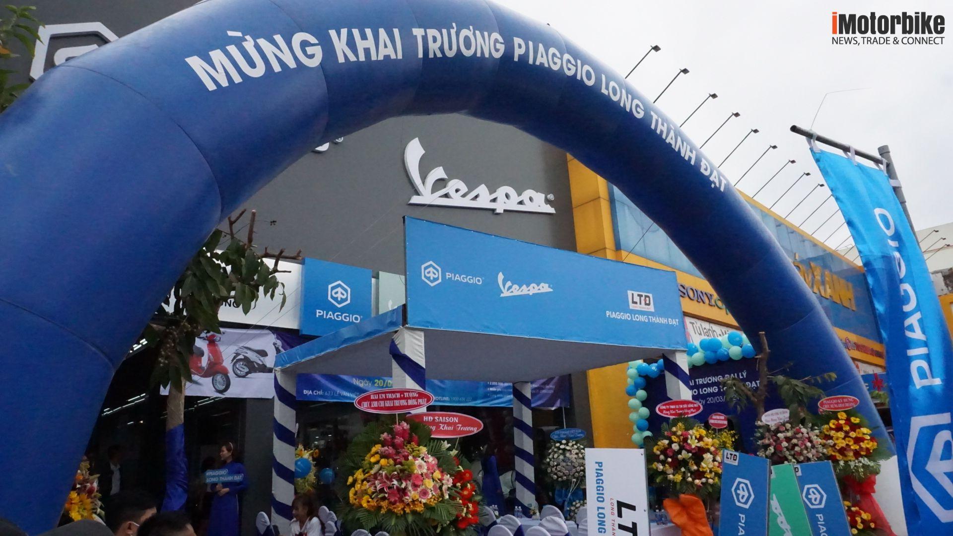 Piaggio Long Thành Đạt chính thức khai trương!