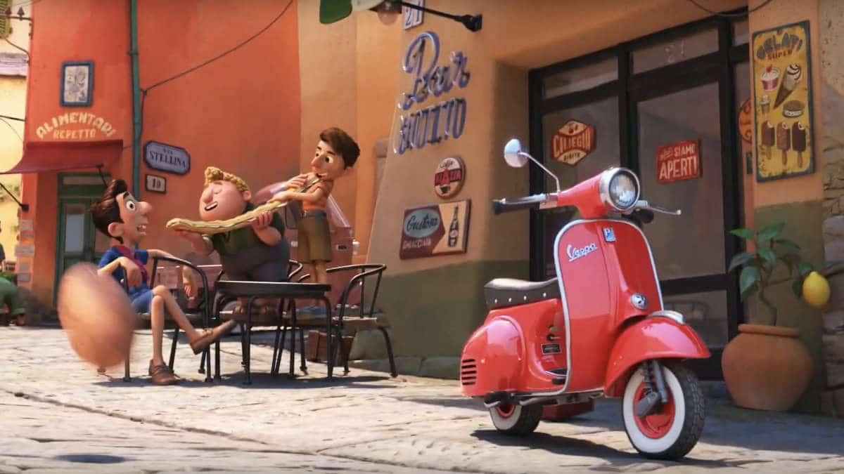 Review phim Luca - Chiếc Vespa đỏ rực và Thông điệp tình bạn đầy ý nghĩa