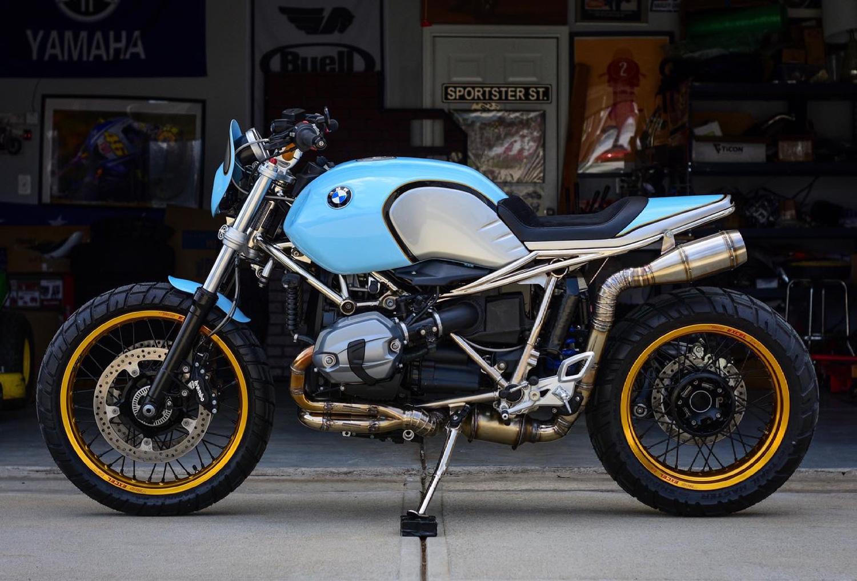 BMW R nine T: Sự đột phá từ Parr Motorcycles