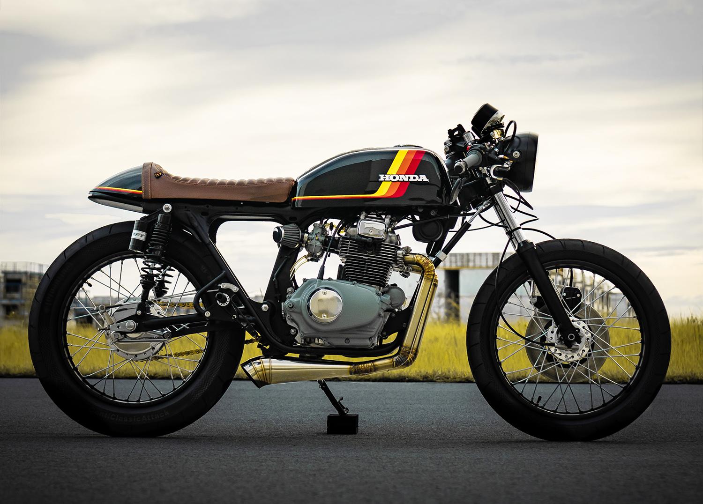 HONDA CB200 1974 CAFE RACER ĐẬM CHẤT CỔ ĐIỂN